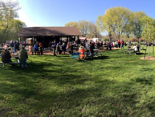 The Whitnall Park Beer Garden opens for the season on May 3.