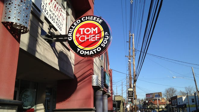 Tom+Chee's location in the Highlands, 1704 Bardstown Rd., has closed.