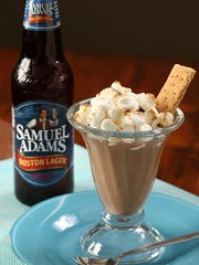 S'more Boston Lager Pudding.