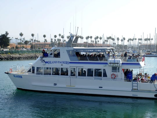 Island Packers and Ventura Harbor are hosting a Valentine's Day cruise of the Ventura Harbor and Keys.