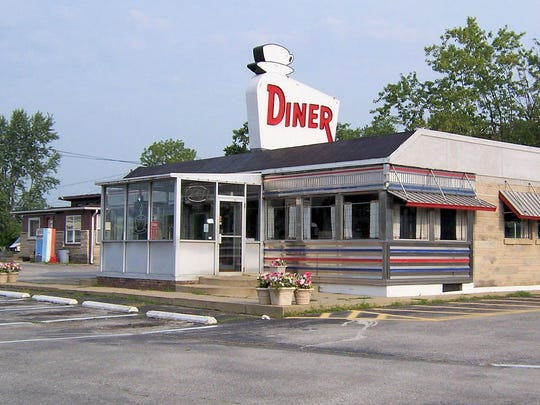 """The U.S. 40 Diner served motorists traveling the historic National Road from 1954 until it closed in 2009. Manufactured in New Jersey and transported by rail to Indiana, the diner landed on Indiana Landmarks' """"10 Most Endangered List"""" in 2010."""
