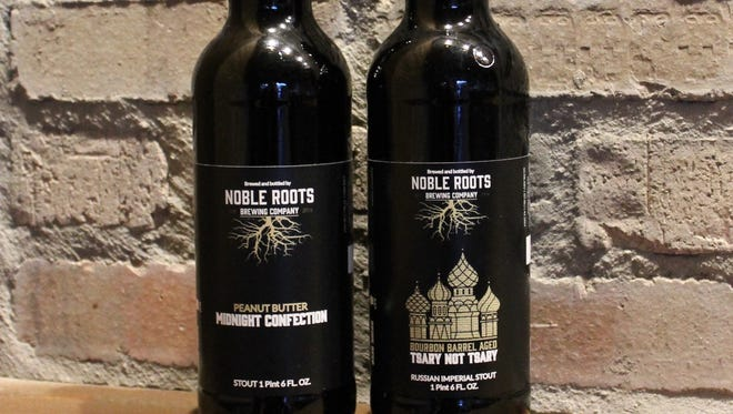Noble Roots Brewing releases two bottled beers to celebrate its first anniversary during its party Saturday.