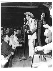 Country music star Hank Williams Sr., who passed away