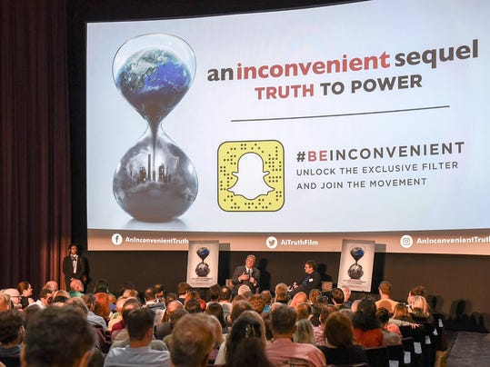"""Special Seattle Screening of """"An Inconvenient Sequel: Truth to Power"""""""