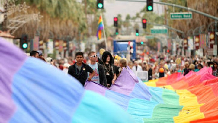 The Greater Palm Springs Pride Festival comes a week