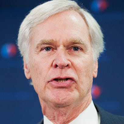 Rep. Ander Crenshaw, R-Fla., conducts a news conference