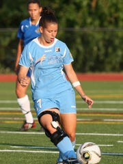 Tricia DiPaolo played for Sky Blue FC and now is a Rutgers women's soccer assistant coach.