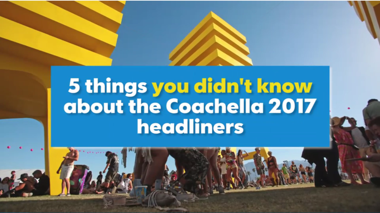VIDEO: 5 things you didn't know about the Coachella 2017 headliners