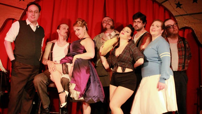 """Peaches and Crime will perform """"Bandit's Burlesque"""" at the Endicott Performing Arts Center on Saturday."""