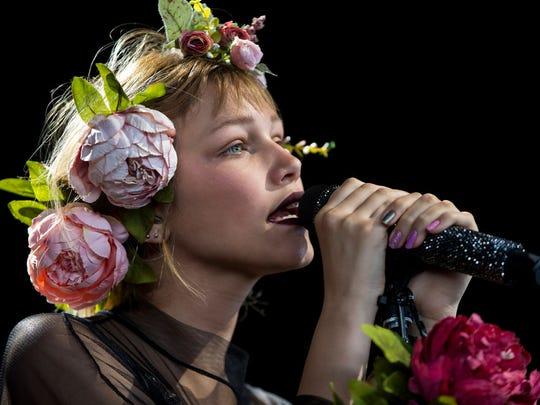 Grace VanderWaal opens for Imagine Dragons at the American Family Insurance Amphitheater.