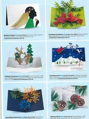 Former Abilenian Katelyn Goodman's Christmas card is one of six seen on Page 67 of the autumn Museum of Modern Art.