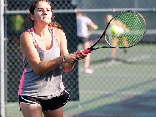 Fondy girls tennis