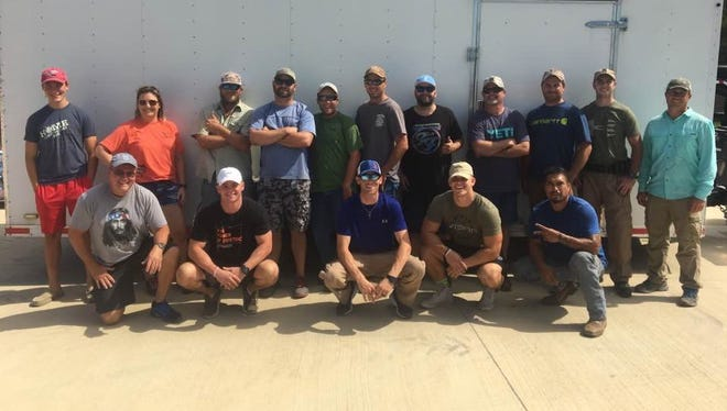 A group of sixteen volunteers from the Concho Valley are went down South to help after Hurricane Harvey.