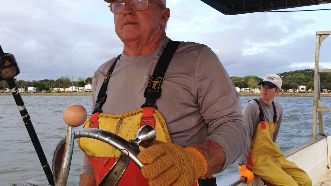 Commercial fishermen fight to fish near nasa for Commercial fishing florida