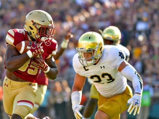 Notre Dame's Drue Tranquill announced he'll return