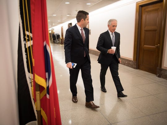 After 12 years in the U.S. Senate, Bob Corker will hand over the reins on Thursday.