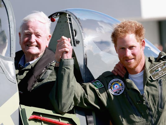 Prince Harry, flying ace