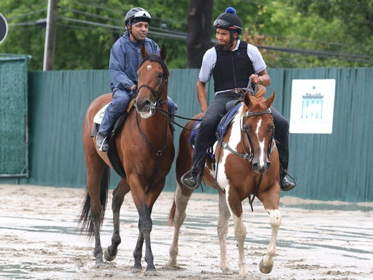 Haskell Invitational contender Core Beliefs (left)