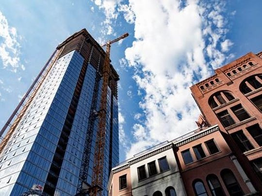 Located at Fifth and Church, 505 will be downtown Nashville's