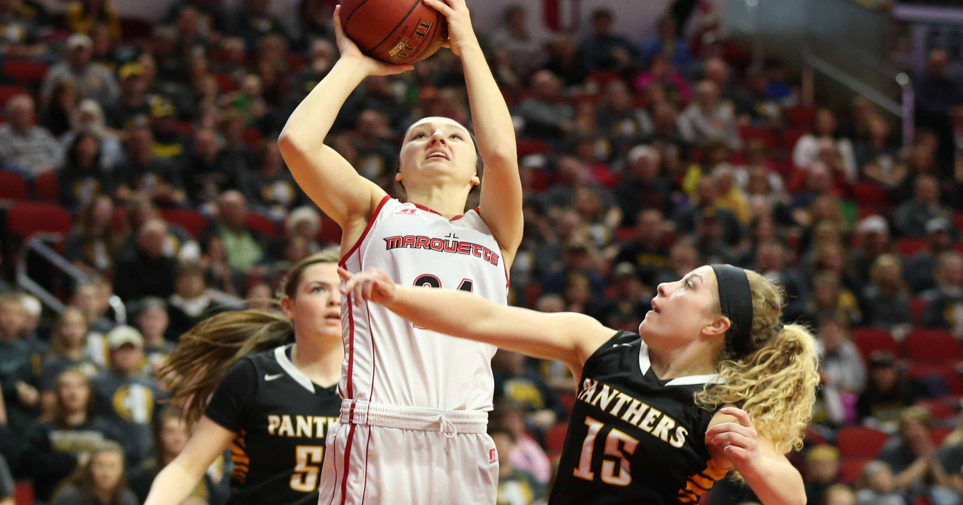 Updates: Day 1 of the Iowa girls state basketball tournament