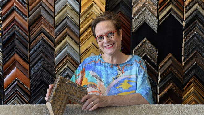 After operating the Kada Gallery since 1993, Kathy DeAngelo, shown July 24, is planning to retire.