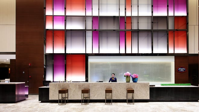 In March, Hilton Worldwide opened its second China-based Hampton by Hilton hotel in the city of Guangzhou.