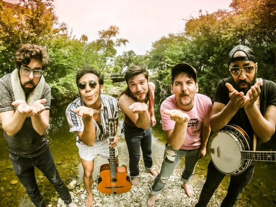 Whiskey Shivers performs July 5 at the City Green in
