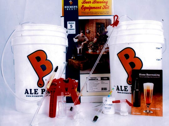 Get this kit for beginners for friends to brew their own.