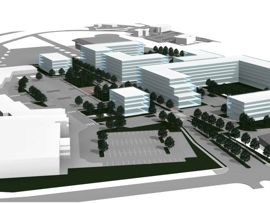 Proposed re-development of Essex Shoppes and Cinema,