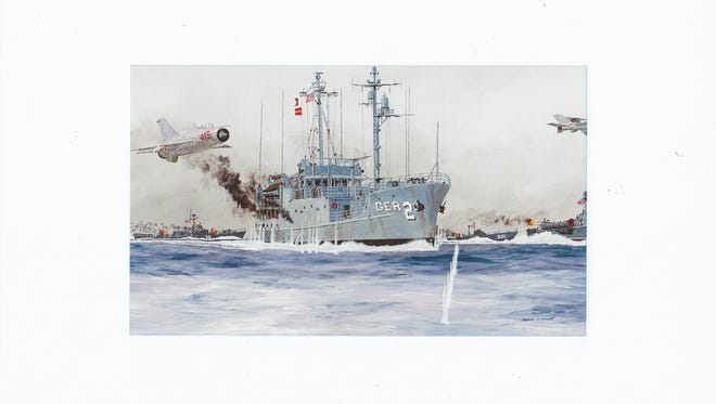 The story of  the USS Pueblo, built in Kewaunee, and its crew who were captured and tortured by North Korea, will be told at a special Kewaunee County Historical Society presentation on April 16.