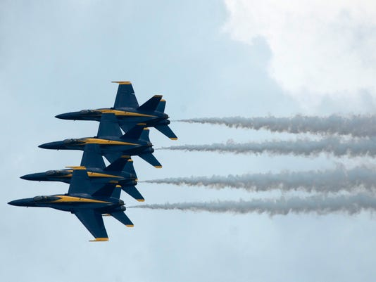 Blue Angels Return to the Air