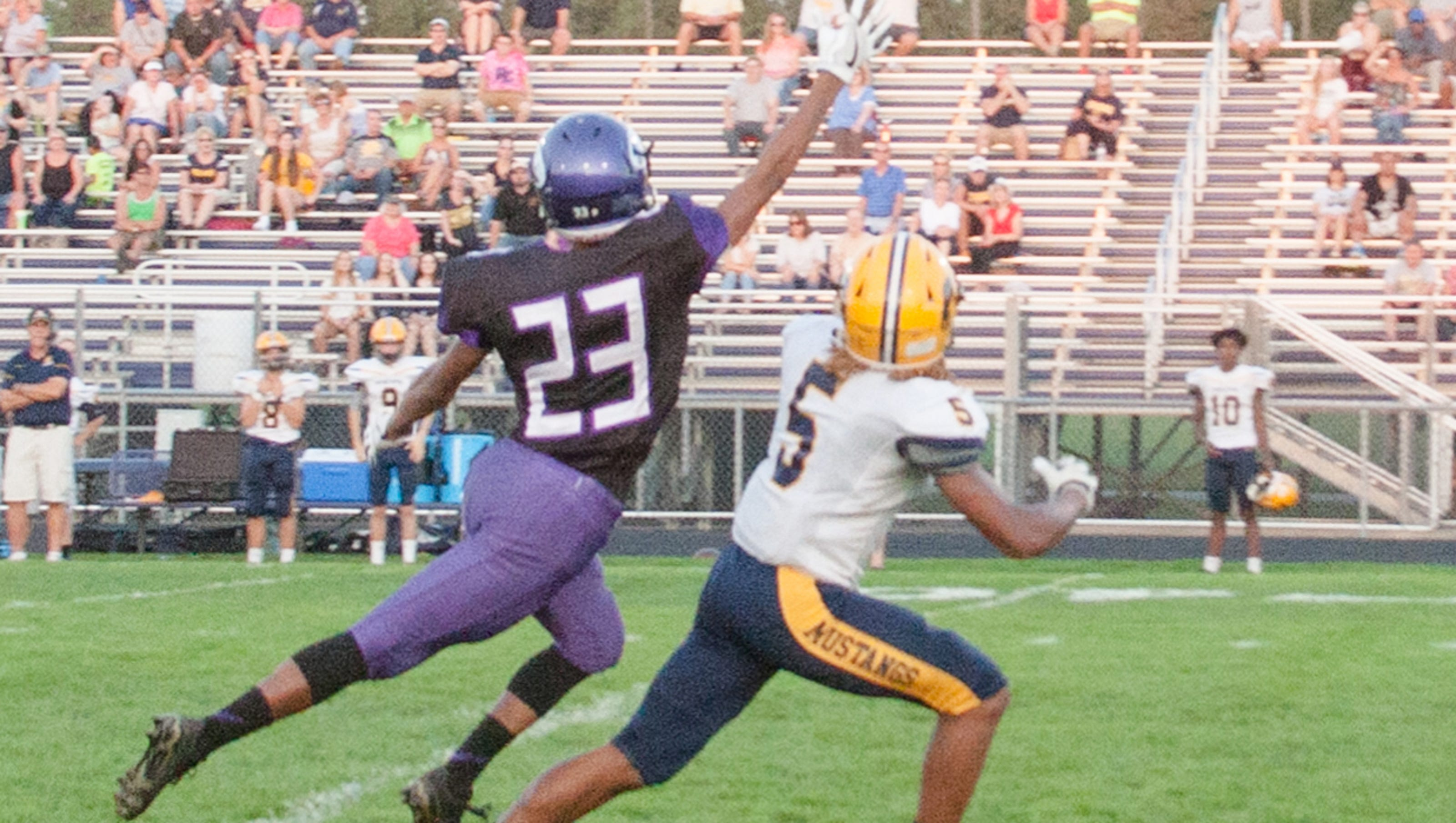Portage Central Beats The Heat Shuts Out Lakeview Football