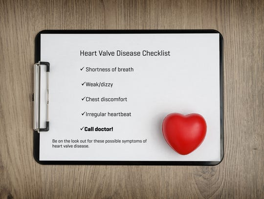 Know your heart checklist provided by McLaren Port