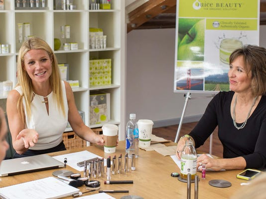 Juice Beauty event with Gwyneth Paltrow for Earth Day