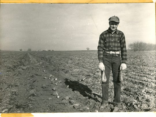 A Colorado sugar beet farmer.