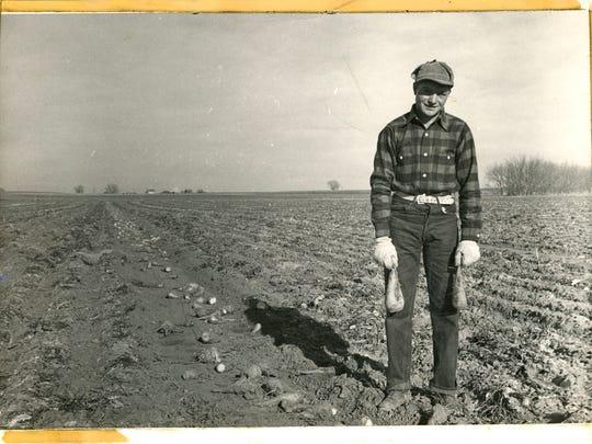 A Colorado sugar beet farmer.