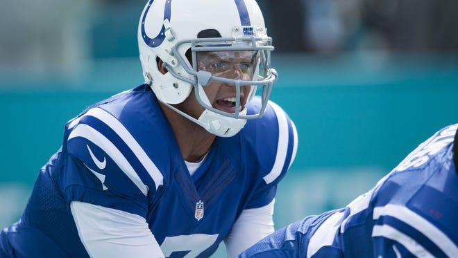 Next man up? As of right now, the best bet for Colts quarterback on Sunday appears to be Stephen Morris, an undrafted quarterback who has never appeared in an NFL game. Last weekend, Morris warmed up before the Colts-Miami game, but didn't play.