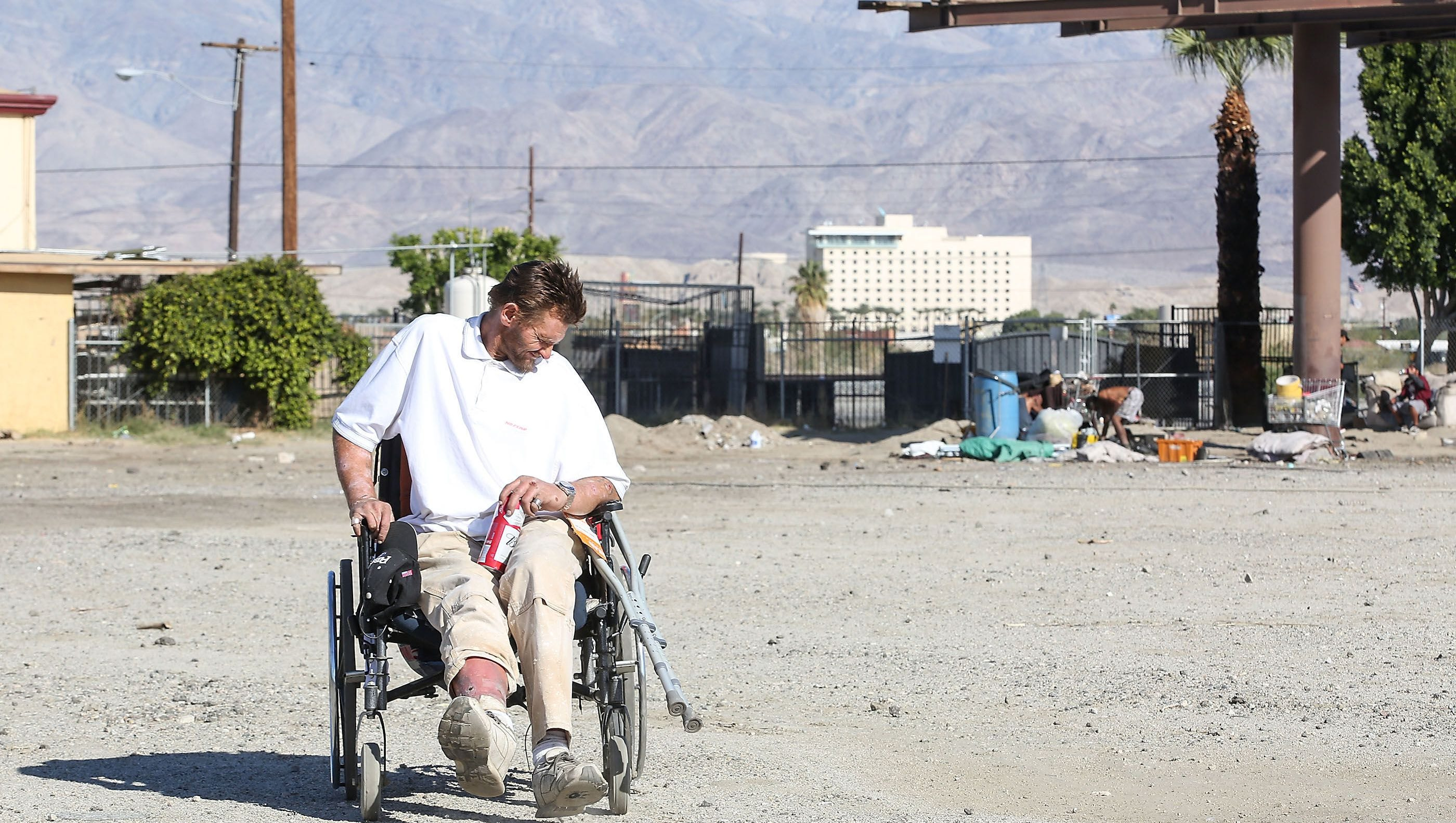 Homeless in the valley: 55% of Coachella Valley homeless struggle with addiction