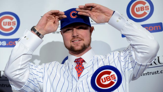 Jon Lester will likely throw the first pitch of the 2015 season, on ESPN, and the network hopes the Cubs become something of a network staple.