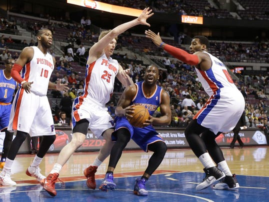 Knicks vs. Pistons