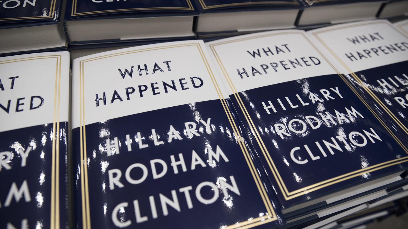 Hillary Clinton's book has sold more than 300K copies