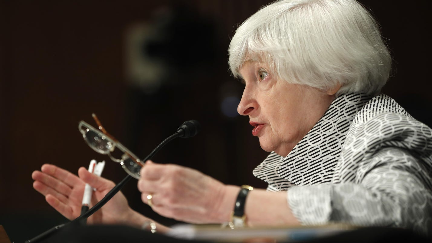 Yellen: Fed is perplexed by chronically low inflation