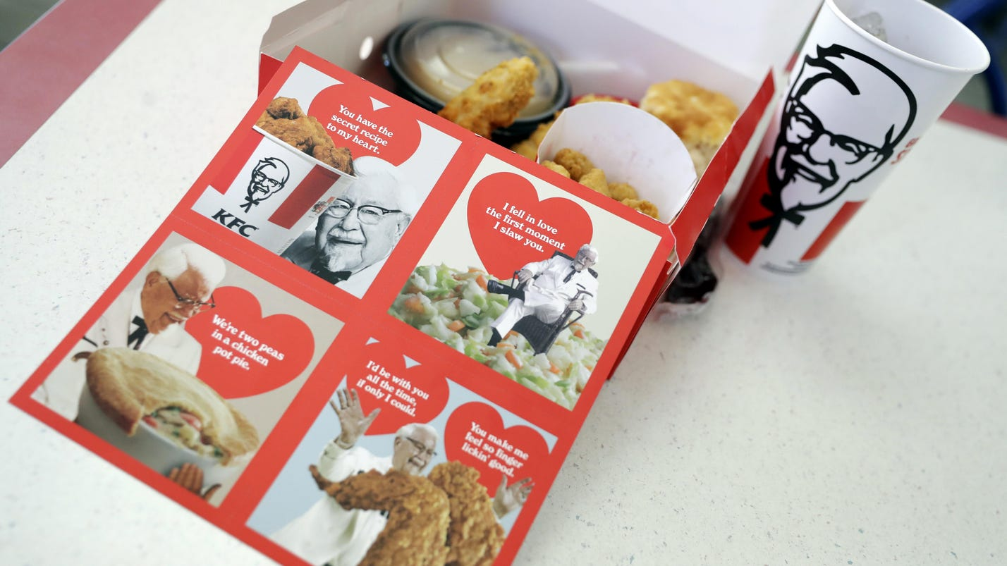 Fast-food chains try to lure Valentine's Day sweeties