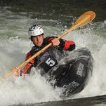 Reno's Jason Craig competes in the freestyle kayak finals during the 11th annual Reno River Festival in May, 2014. Flows sufficient for whitewater kayaking have been rare in recent years.