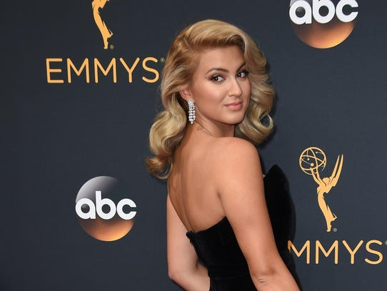 Tori Kelly arrives at the 68th Primetime Emmy Awards