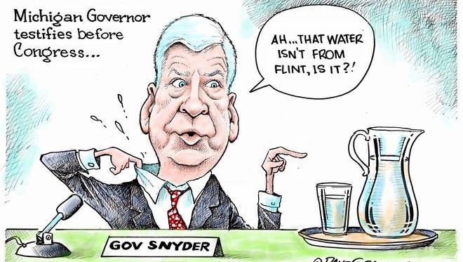 Dave Granlund, Politicalcartoons.com, drew this Desert Sun editorial cartoon for March 19, 2016.