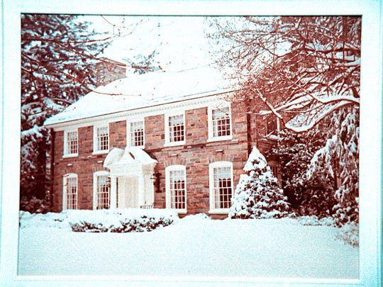 This 1996 file photo is a picture of the Snell estate.