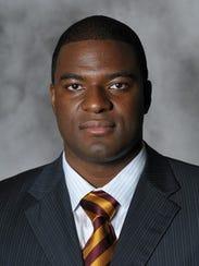Iowa State assistant Daniyal Robinson.
