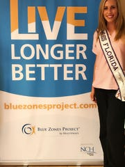 Kelsey Craft is now an ambassador for the Blue Zones