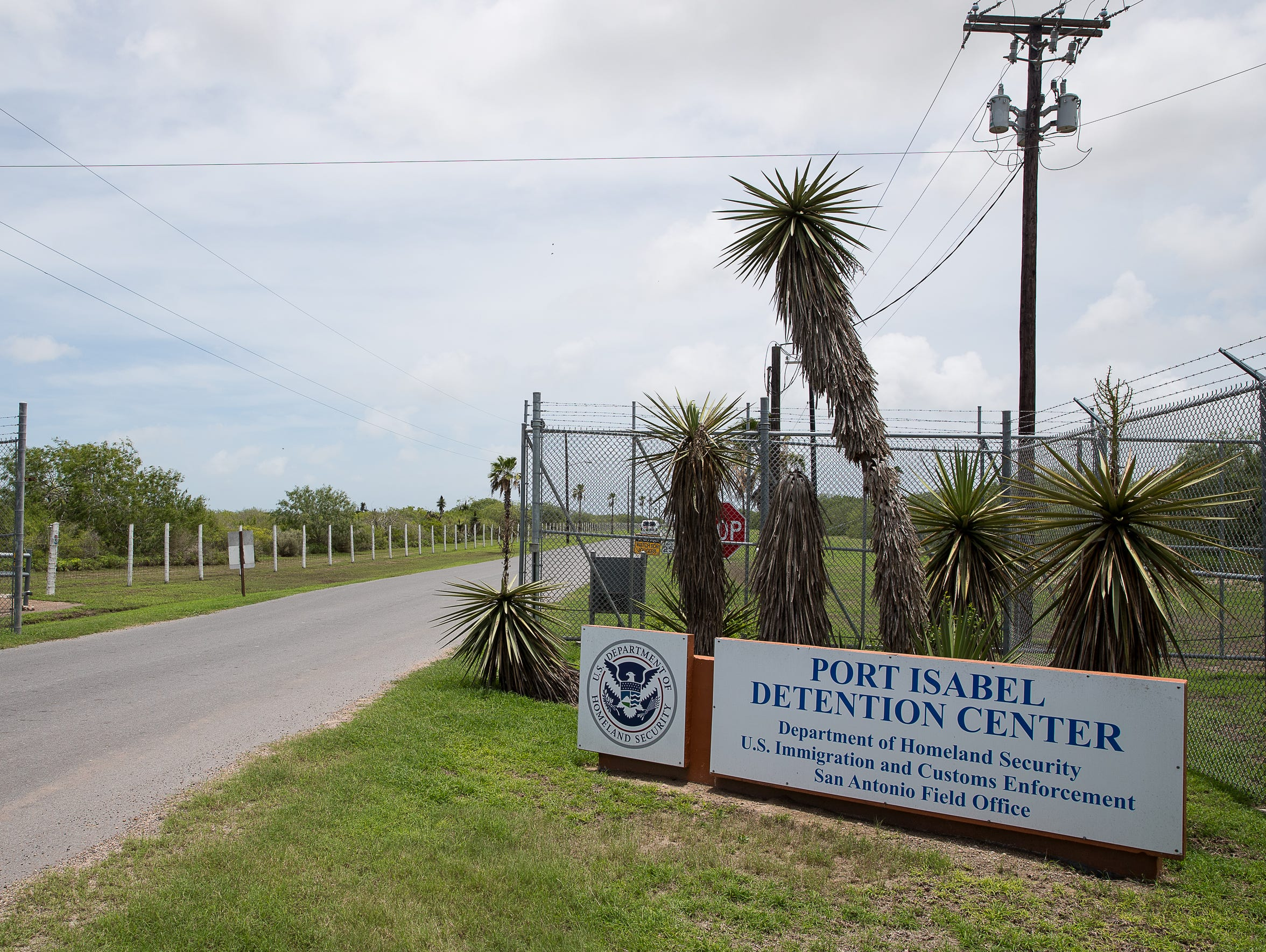 The Port Isabel Processing Center in Los Fresnos, Texas,